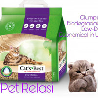 Pasir Kucing Gumpal Cat's Best Smart Pellets 5kg