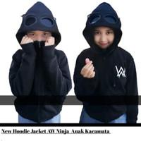 Jaket sweater anak alan walker kacamata ninja google size S M L