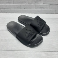 Sandal Adidas Pria Slide All Black Import