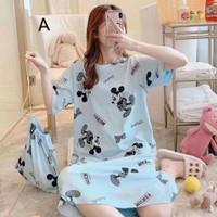 Daster Wanita Eve Bajutidur Cewek Baju Tidur Sleepwear Murah Katun