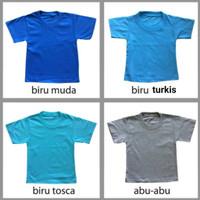 Kaos Polos Anak Katun Murah Premium bahan Adem , sz 2-4 tahun