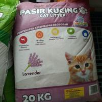 Pasir Kucing KAWAN Bentonite Cat Litter 20kg GOJEK - GRAB