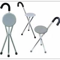 kursi tongkat lipat/kursi untuk sholat