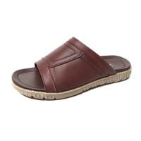 Sandal pria model selop bahan kulit asli model terbaru CLW091