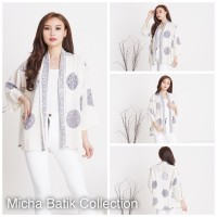 Outer batik cardigan paris