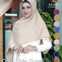 Jilbab / Hijab / kerudung terbaru corn skin syari by azara