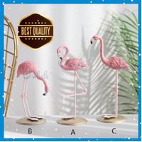 Ornamen Flamingo Pajangan Scandinavian Tropical / Hiasan Dekorasi - Varian B