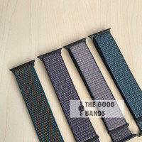 Strap Tali Apple Watch NIIKE SPORT LOOP nylon 1 2 3 4 5 42mm 44mm band
