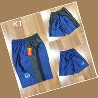 celana kolor olahraga GYm fitness basket cowok bahan paragon