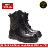 Sepatu PDL jatah bahan kulit asli kulit premium