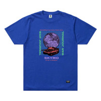 SKYMO APPAREL TSHIRT DECEPTION BLUE