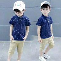 SETELAN BAJU ANAK LAKI LAKI Marine 1 - 5 Tahun, Baju Anak Branded