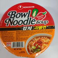 Nongsim bowl kimchi 86gr