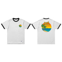 SKYMO APPAREL TSHIRT BEACH PLEASE WHITE