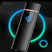 Korek Api Elektrik Fingerprint Touch Sensor
