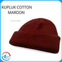 Topi Pria & Wanita Kupluk Rajut Peci Beanie Hat Katun Beanie Hat Polos
