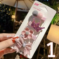 Jepit Rambut Anak Import Cantik - Set 4 Pcs