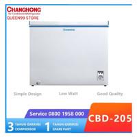 CHEST FREEZER CHANGHONG CBD205 R600 NEW 2020