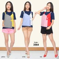 baju atasan wanita terbaru/baju atasan wanita murah/blouse korea terba