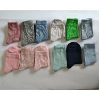 Kaos kaki polos TK anak (paket 3 pasang) - Mix Warna