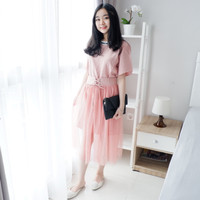 MINI DRESS WANITA KENSI FASHION IMPORT BKK BANGKOK