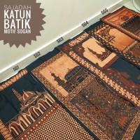 Sajadah Batik Halus - Motif Lawasan   Ukuran Standar