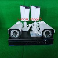 PAKET CCTV 4CH DVR 4 KAMERA OUTDOOR 4MP FULL HD KOMPLIT TINGGAL PASANG