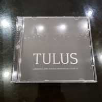 CD ORIGINAL TULUS ALBUM CONCERT KONSER MONOKROM MONOCHROME JAKARTA