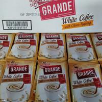 Kapal Api Grande White Coffee choco topping