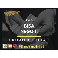 ( NEGO CREATINE BCAA ) capsule powder bubuk suplemen fitness glutamine