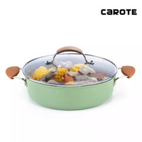 Carote Bio Green Low Casserole Anti Lengket 28 Cm