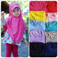 Hijab Anak Topi - Jilbab Instan - Kerudung Anak Perempuan