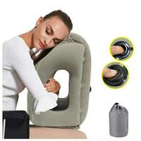 Bantal Angin Peluk Bantal Angin Tiup Travel Pillow Tiup otomatis