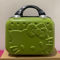 Beauty Case / Tas Koper Kosmetik / Koper Mini Bahan Fiber 'Hello Kity'