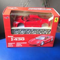Promo 2020 Diecast Maisto model rakit 1:24 Ferrari F430 Red