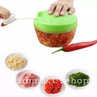 Manual speedy chooper/Blender tarik tangan /Alat pemotong sayur dan bu