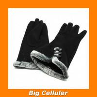 NUANHONGHONG Sarung Tangan Wanita Touch Screen Winter Women Gloves - S