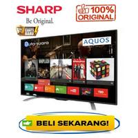 TV LED SHARP 32 Inch Digital Smart TV Full HD Upscaling Garansi Resmi