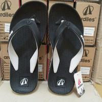 Sandal jepit karet Ardiles Floridina sport hitam/sandal pria original