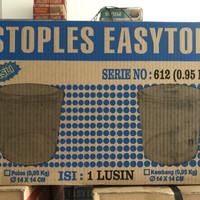 1 dus toples 612 tabung 950 gram isi 12 easytop stoples plastik mika