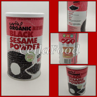 Earth living organic black sesame powder 500gr