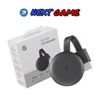 All New Google Chromecast 3rd Generation - Versi 3 Warna Hitam