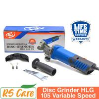 Disc grinder H&L HLG 105 Mesin Gerinda Gurinda Tangan 4 Mesin Poles