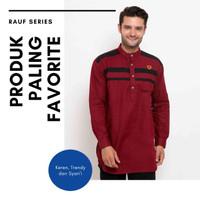 New Baju Muslim Pria Zayidan Model RAUF MAROON