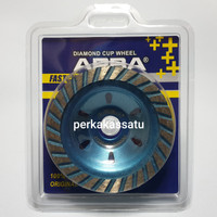 "MATA GERINDA DIAMOND CUP WHEEL 4 INCI 4"" / 100MM TURBO ARBA"