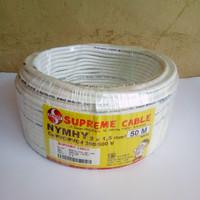 kabel listrik supreme nyyhy / nymhy 2x1.5 serabut jual per meter
