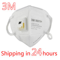 3m 9501 v+ with filter valve /masker n95 TERMURAH READY STOCK ORIGINAL