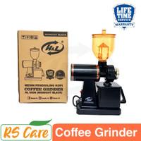 Mesin Giling Biji Kopi Grinder Kopi Listrik Electric Coffee Maker - Midnight Black