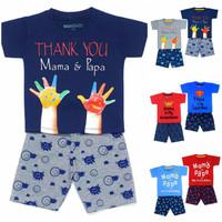 SETELAN BAJU ANAK LAKI LAKI papa mama 1 - 7 Th Baju Anak Laki Laki