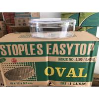 Toples easytop 1105 oval 450 gram 1 pcs stoples plastik mika